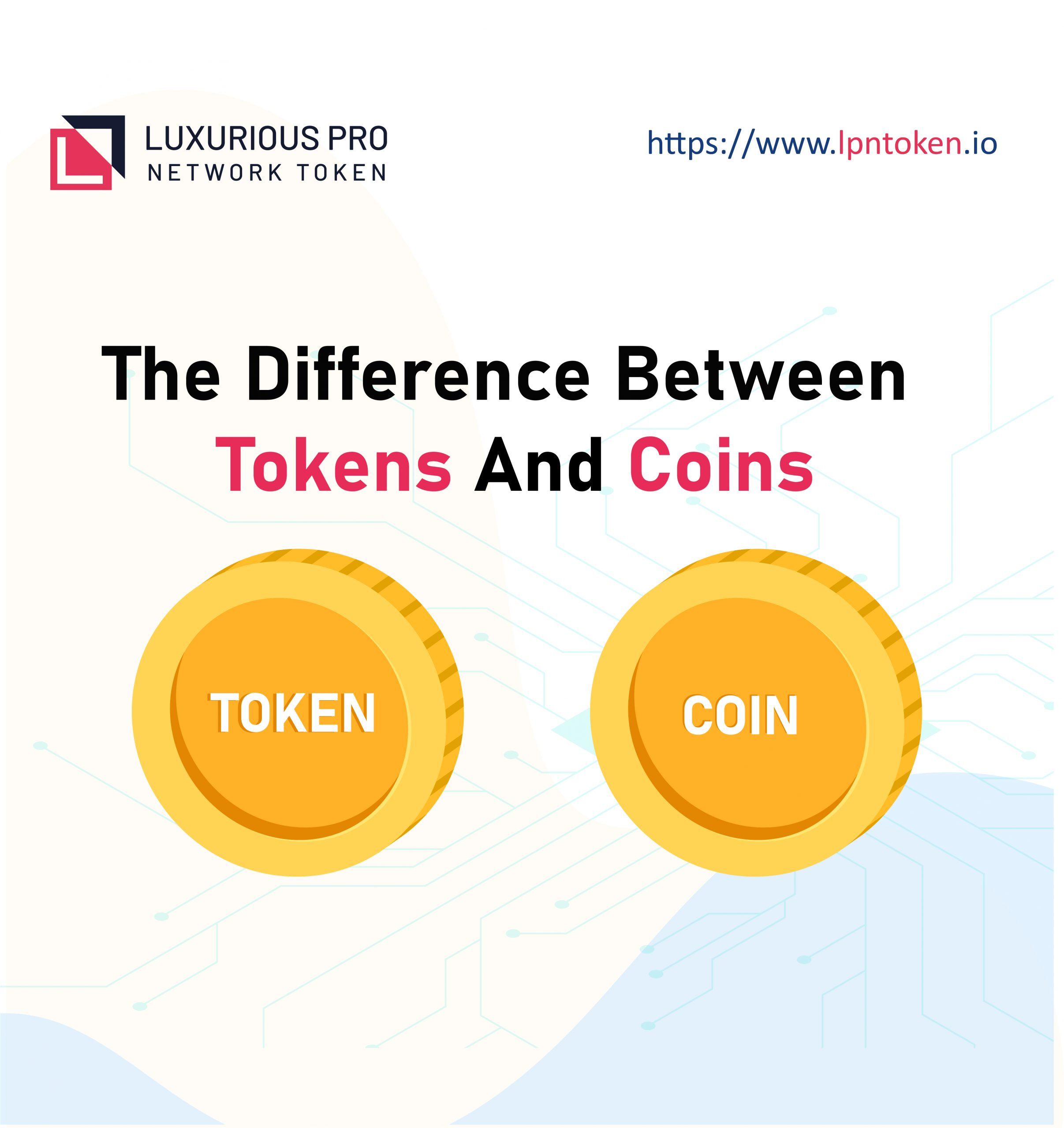 token coin difference