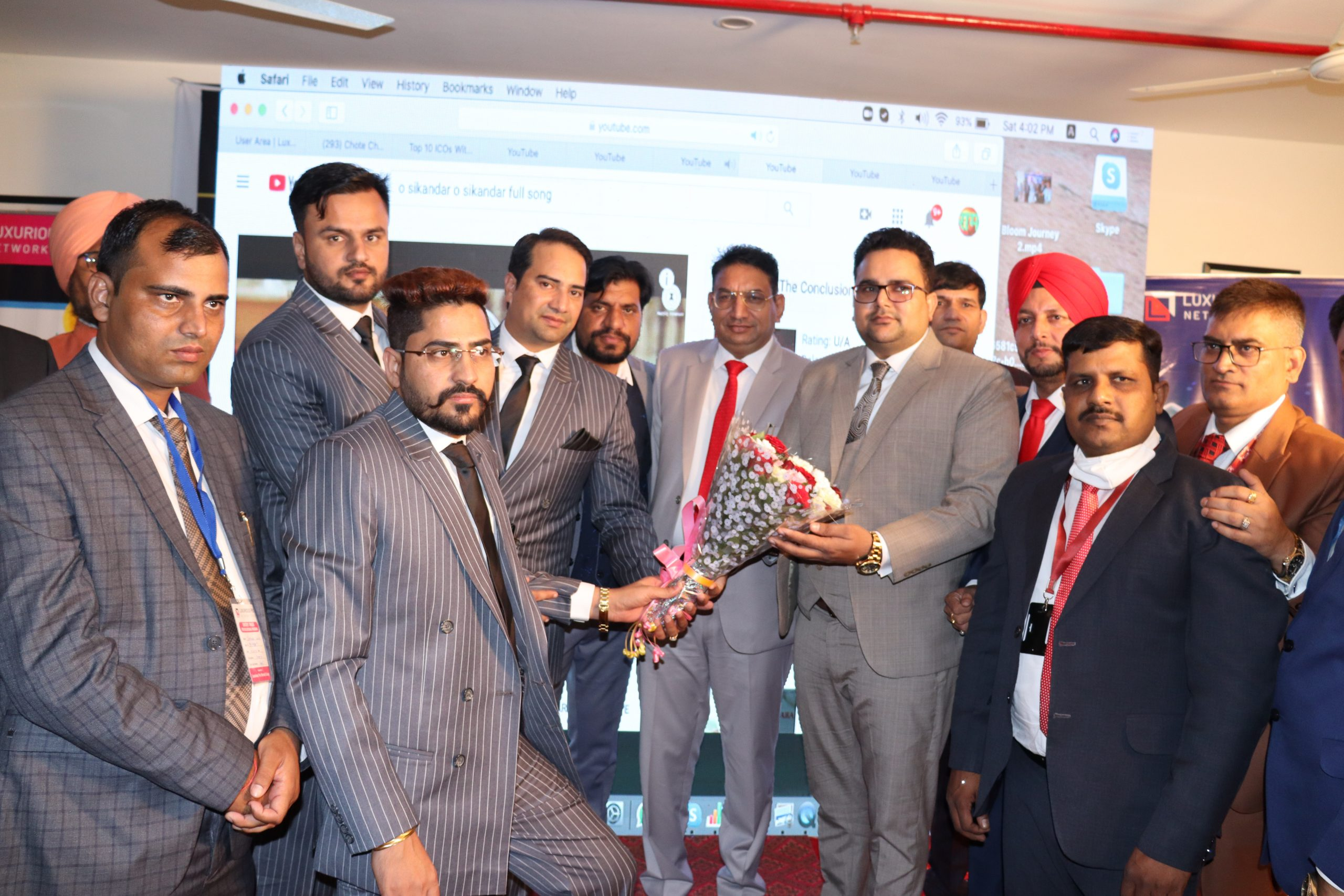 Lpn token event organized in South India
